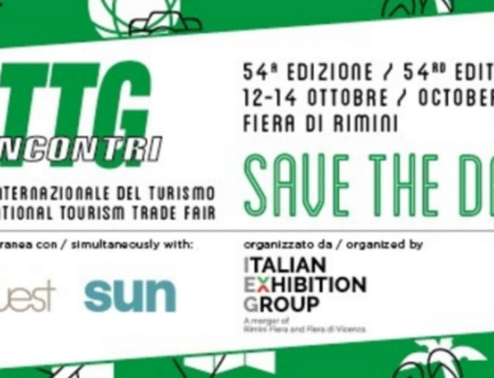 Siamo al TTG Incontri 2017,  Rimini 12-14 Ottobre